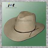 wholesale men's hand woven spring western hat 18001